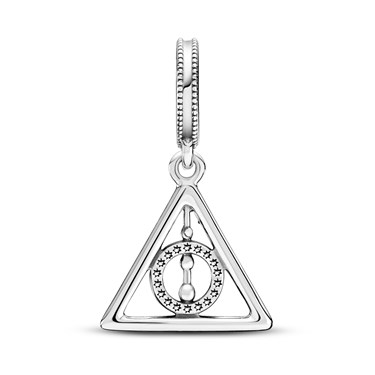 Pandora Harry Potter Deathly Hallows Charm  - Click to view larger image