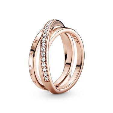 Pandora Pandora Rose Signature Ring  - Click to view larger image