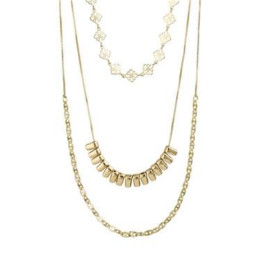Pilgrim Gold Joy Layered Necklace  - Click to view larger image