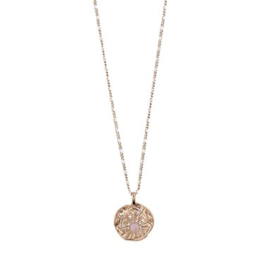 Pilgrim Rose Gold Joy Coin Necklace  - Click to view larger image