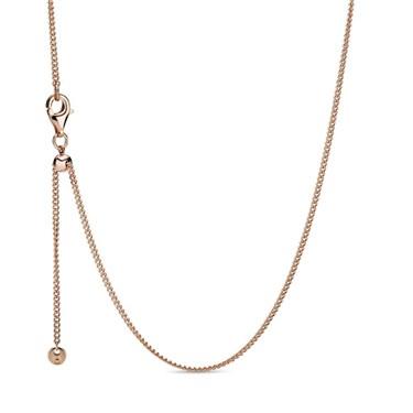 Pandora Rose Curb Necklace  - Click to view larger image