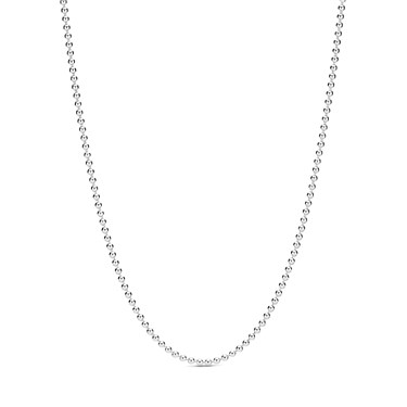 Pandora Polished Ball Chain Necklace  - Click to view larger image