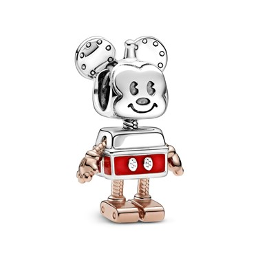 Pandora Disney Mickey Mouse Robot Charm  - Click to view larger image