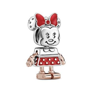 Pandora Disney Minnie Mouse Robot Charm  - Click to view larger image
