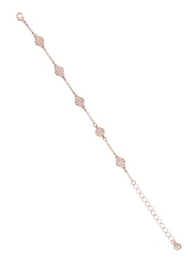 Ted Baker Rose Gold Multi Crystal Ball Bracelet   - Click to view larger image