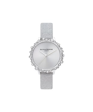 Olivia Burton Grey Bubble Watch   - Click to view larger image