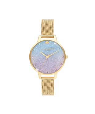 Olivia Burton Glitter Rose Mermaid Watch   - Click to view larger image