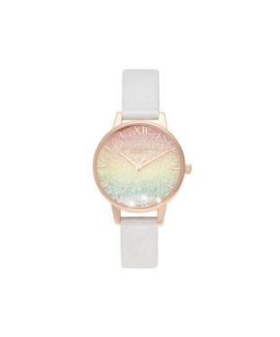 Olivia Burton Rainbow Wishing Wave Watch   - Click to view larger image
