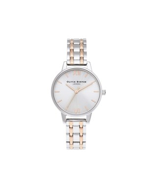Olivia Burton Sunray Mixed Metal Watch  - Click to view larger image