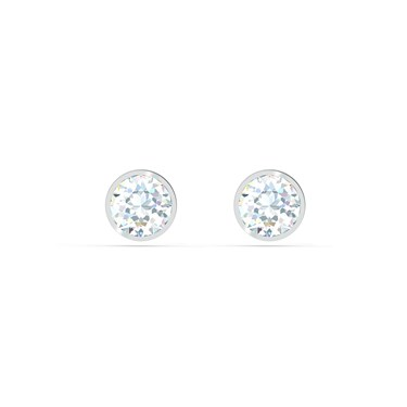 Swarovski Tennis Silver Earrings  - Click to view larger image