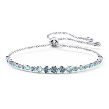 Swarovski Emily Blue Pull Bracelet   - Click to view larger image