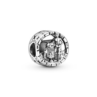 Pandora Star Wars C-3PO & R2-D2 Openwork Charm  - Click to view larger image