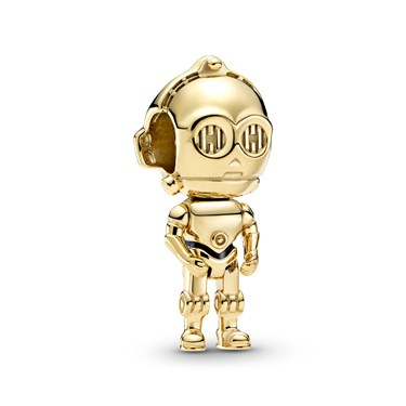 Pandora Star Wars C-3PO Charm  - Click to view larger image