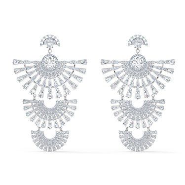 Swarovski Sparkling Dance Statement Earrings  - Click to view larger image