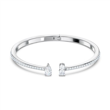 Swarovski Attract Silver Cuff  - Click to view larger image