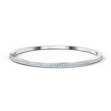 Swarovski Medium Rare Silver Bangle  - Click to view larger image