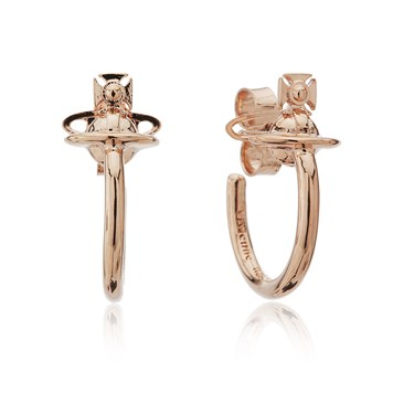 Vivienne Westwood Rose Gold Vera Earrings  - Click to view larger image