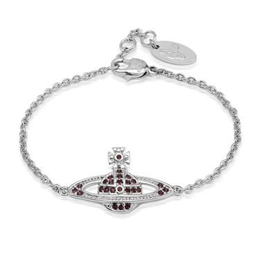 Vivienne Westwood Mini Bas Relief Purple Bracelet   - Click to view larger image
