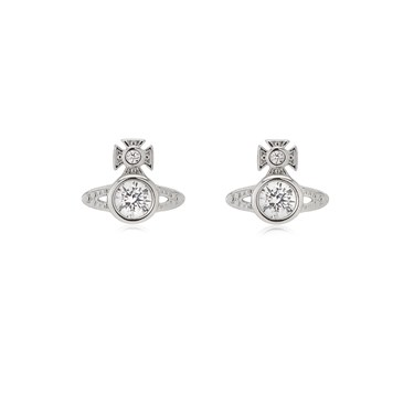 Vivienne Westwood Rhodium London Earrings  - Click to view larger image