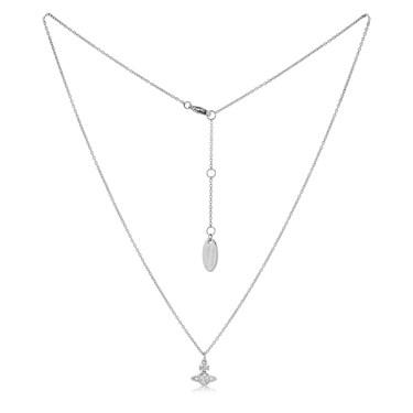 Vivienne Westwood Rhodium London Necklace  - Click to view larger image