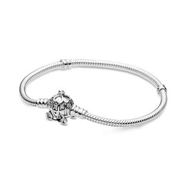 Pandora Disney Cinderella Pumpkin Coach Moments Bracelet  - Click to view larger image