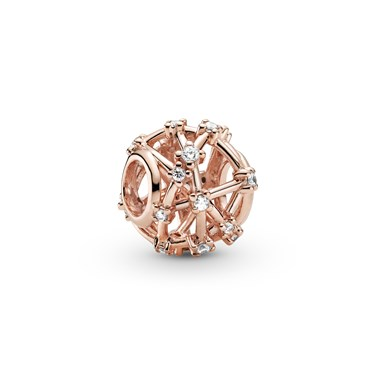 Pandora  Rose Openwork Star Constellations Charm  - Click to view larger image