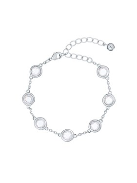 Ted Baker Silver Crystal Starlight Bracelet  - Click to view larger image
