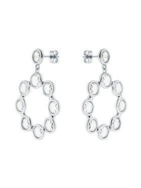 Ted Baker Silver Crystal Starlight Earrings  - Click to view larger image