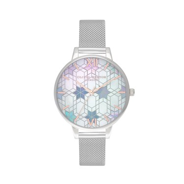 Olivia Burton Silver Ice Queen Watch  - Click to view larger image