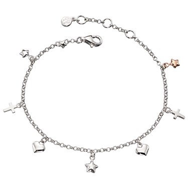 Little Star Athena Charm Bracelet  - Click to view larger image