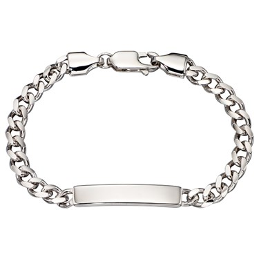 Little Star Bailey Boys Curb ID Bracelet   - Click to view larger image
