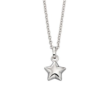 Little Star Eva Plain Star Necklace   - Click to view larger image