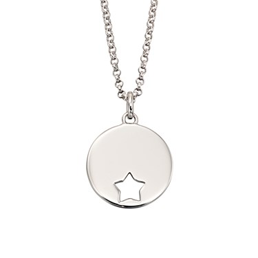Little Star Adults Gia Open Star Necklace  - Click to view larger image