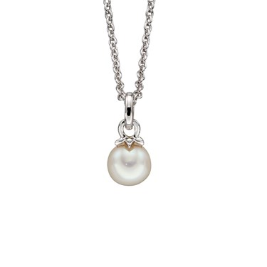 Little Star Isla Freshwater Pearl Necklace  - Click to view larger image