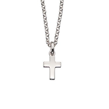 Little Star Kaia Plain Cross Necklace  - Click to view larger image