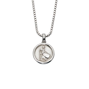 Little Star Miller St Christopher Necklace  - Click to view larger image
