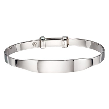 Little Star Willow ID Baby Bangle   - Click to view larger image