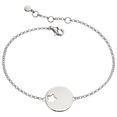 Little Star Adults Zoe Open Star Bracelet  - Click to view larger image