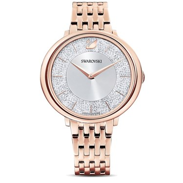 Swarovski Crystalline Rose Gold Chic Watch  - Click to view larger image