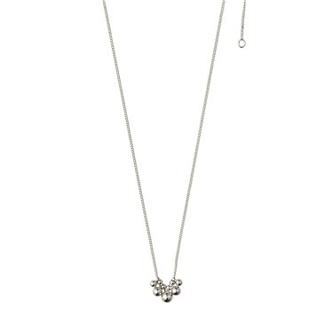 Pilgrim Silver Meg Ball Necklace  - Click to view larger image