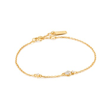 Ania Haie Gold Midnight Fever Bracelet   - Click to view larger image
