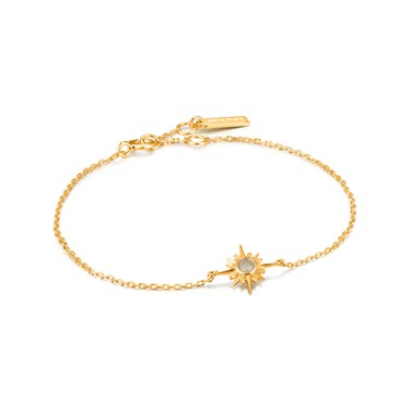 Ania Haie Gold Midnight Star Bracelet   - Click to view larger image