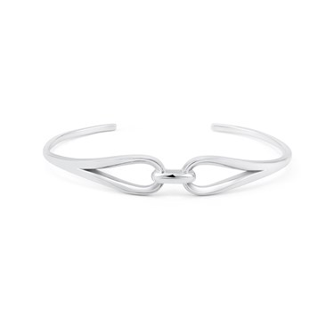 Argento Silver Link Bangle  - Click to view larger image