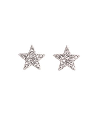 Olivia Burton Silver Star Earrings  - Click to view larger image