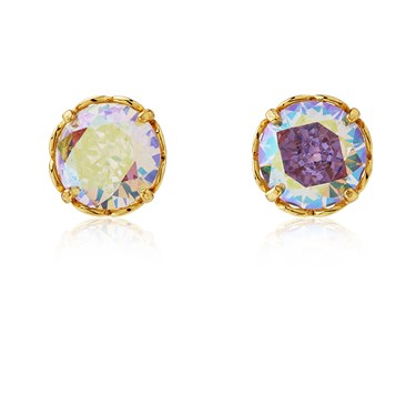 Kate Spade New York Gold Sparkle Round Earrings 1