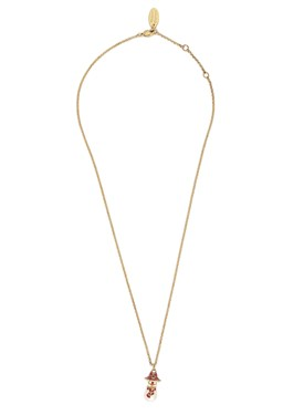 Vivienne Westwood Gold Snowman Necklace  - Click to view larger image