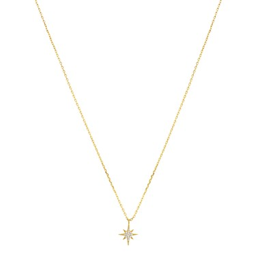 Argento Gold Midnight Star Necklace  - Click to view larger image