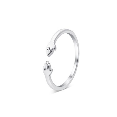 Argento Silver Hug Ring  - Click to view larger image