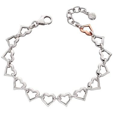 Little Star Kosma Open Heart Bracelet   - Click to view larger image