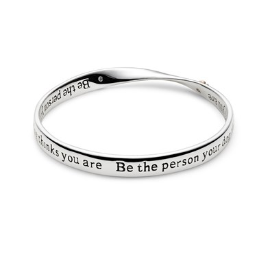 August Woods Affirmations Dog Bangle  - Click to view larger image